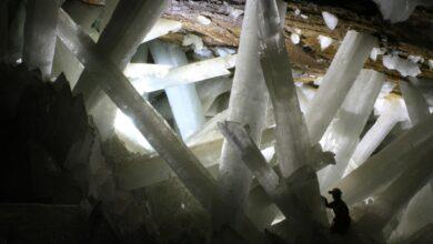 Découvrez la grotte de cristal géante du Mexique