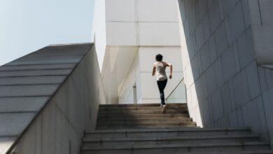 Des exercices de course d'escalier pour gagner en vitesse et en puissance