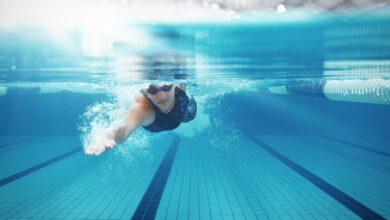Entraînements de natation pour débutants