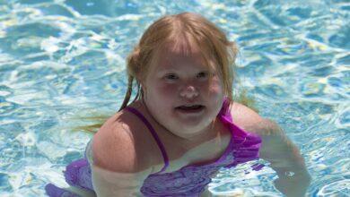 Photo de Équipement de natation pour les enfants et les adultes ayant des besoins particuliers