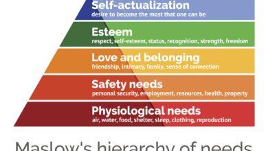 Explication de la hiérarchie des besoins de Maslow