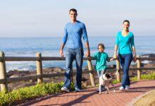 Faire des promenades amusantes avec vos enfants
