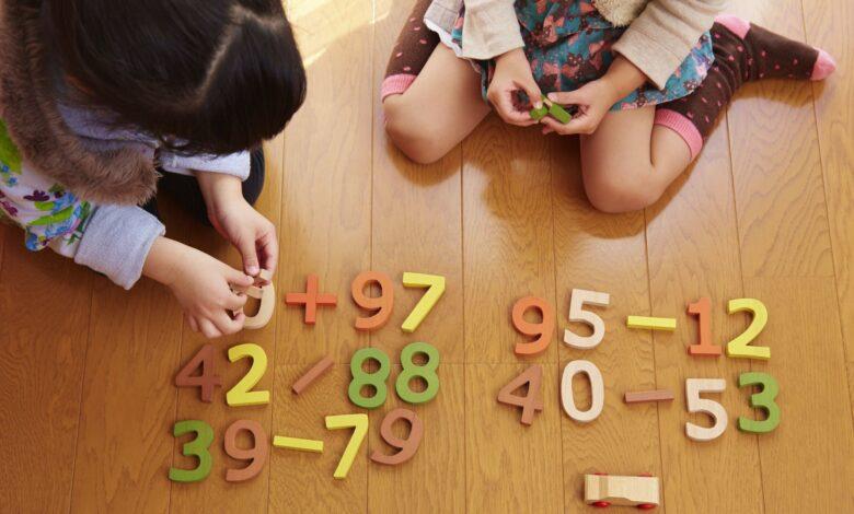 Feuilles de travail pour la soustraction à deux chiffres sans regroupement