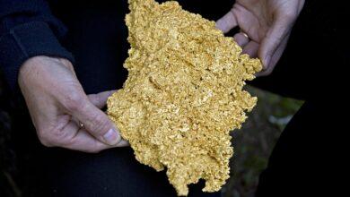 La densité des roches et minéraux communs