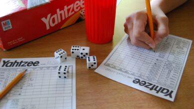 La probabilité de faire salle comble au Yahtzee ?