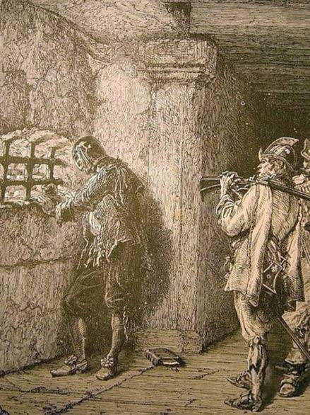 L'homme au masque de fer de Neuville