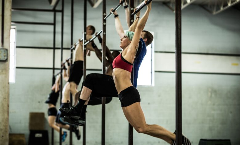 Le CrossFit Angie WOD
