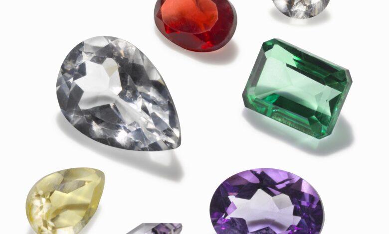 Les États qui ont des pierres précieuses