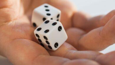 Probabilités de lancer deux dés