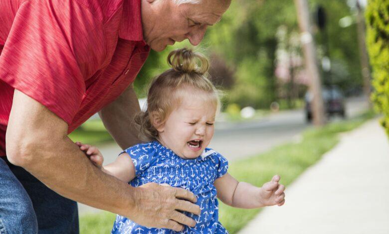 Que faire lorsqu'un petit-enfant est difficile