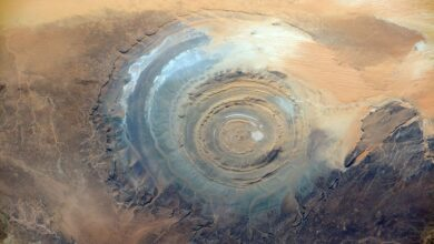 Qu'est-ce que l'œil du Sahara ?