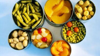 Photo de Tableau de conversion de la taille des boîtes de conserve pour les ingrédients des recettes