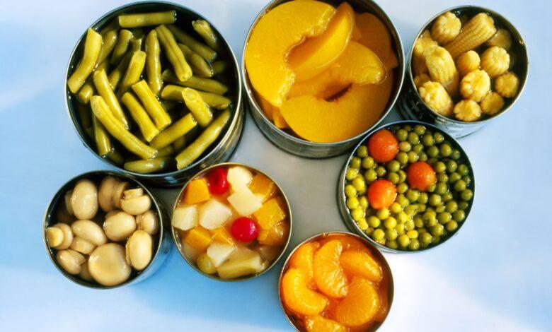 Tableau de conversion de la taille des boîtes de conserve pour les ingrédients des recettes