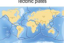 Une carte des plaques tectoniques et de leurs limites
