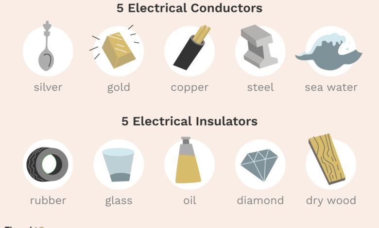 10 Exemples de conducteurs et d'isolants électriques