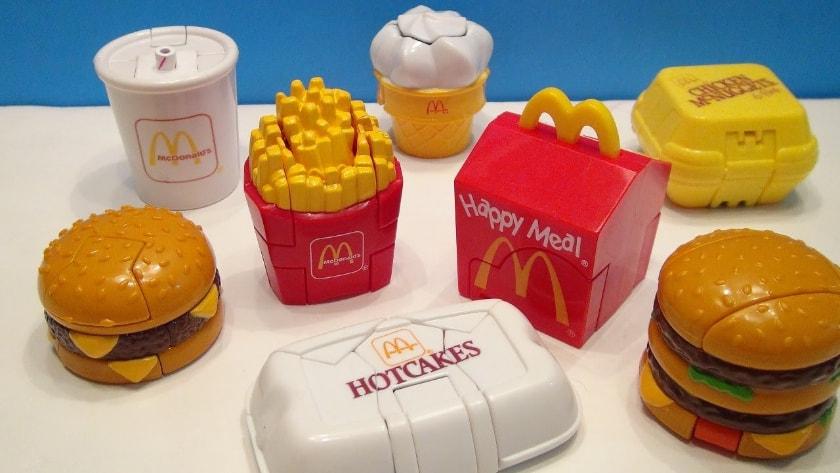 Les jouets Happy Meal les plus chers - Transformer la nourriture (1987 & 1989)
