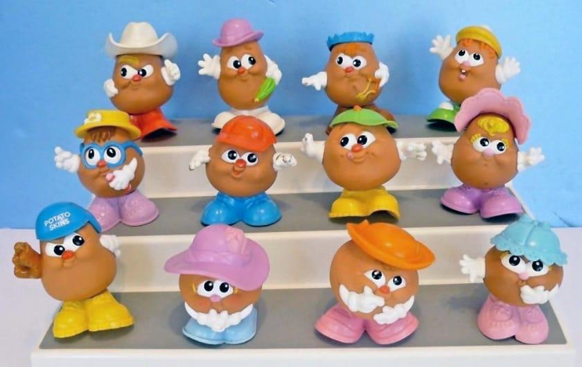 Les jouets Happy Meal les plus chers - Les enfants à tête de pomme de terre (1987)