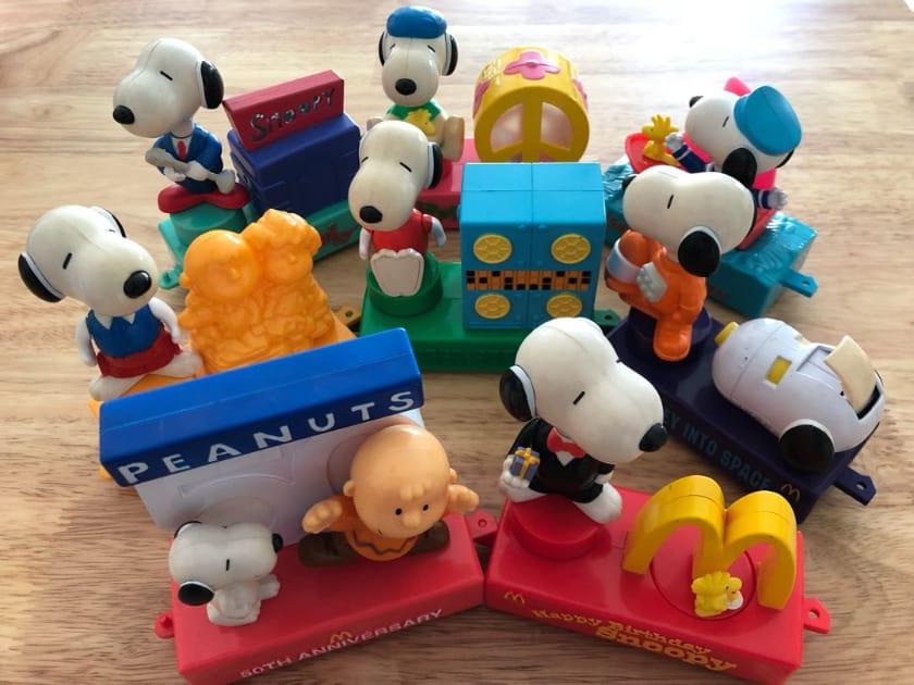Les jouets Happy Meal les plus chers - Snoopy (2000)