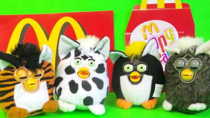 Les jouets Happy Meal les plus chers - Furby (2000)