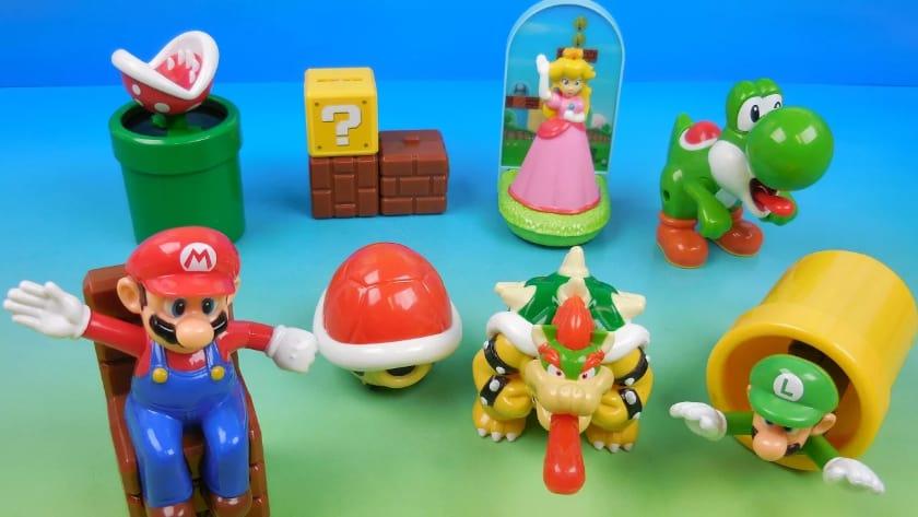 Les jouets Happy Meal les plus chers - Mario (1994 et 1998)