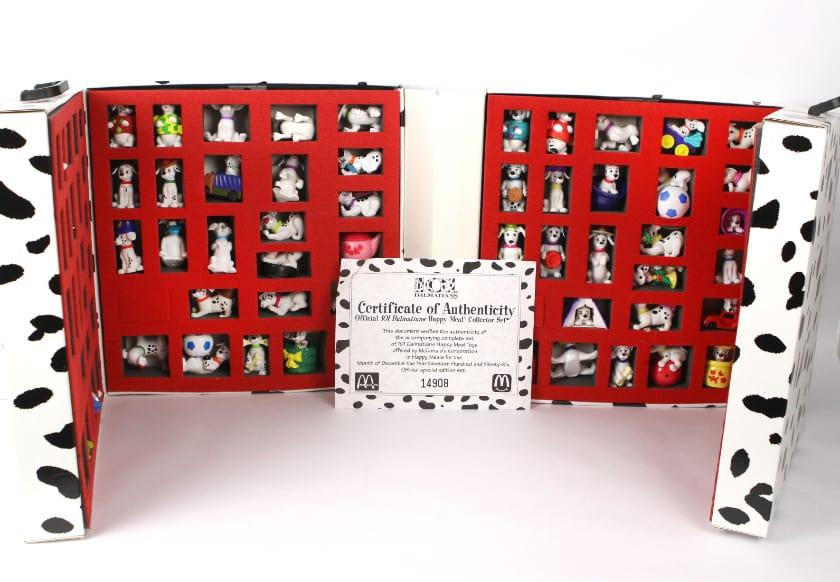 Les jouets Happy Meal les plus chers - 101 Dalmatiens (1996)