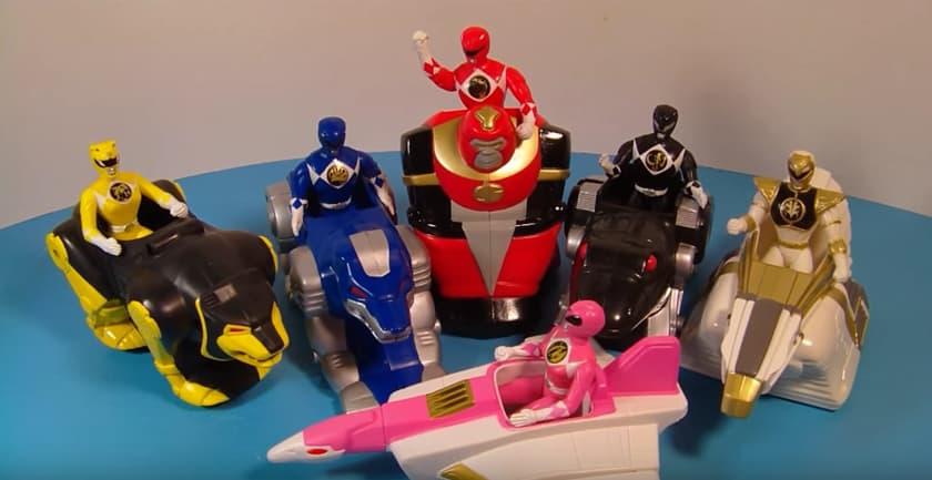 Les jouets Happy Meal les plus chers - Power Rangers (1994)