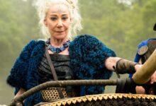 Zoe Wanamaker in TV series 'Britannia'.