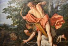 The Greek god Apollo slaying the giant serpent, 'Python'      Source:   Choo Yut Shing / CC BY-NC-SA 2.0