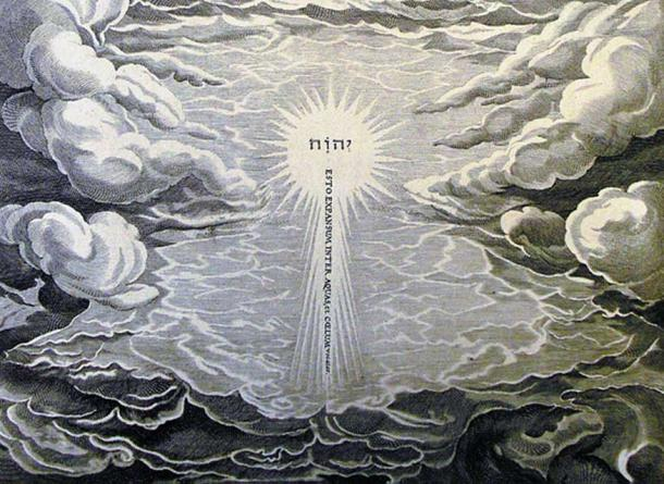 Une illustration de la création par Phillip Medhurst