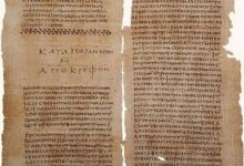 Gospel of Thomas and The Secret Book of John (Apocryphon of John), Codex II The Nag Hammadi manuscripts