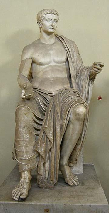 Tibère César.