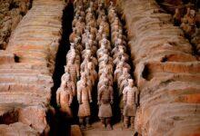 Terracotta Warriors, Xi'an, China.