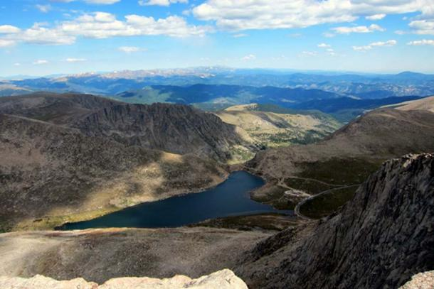 Colorado - Mont Evans : Vue du sommet. (Wally Gobetz/CC BY NC ND 2.0)
