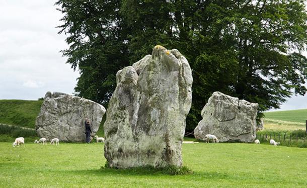 Cercle de pierres d'Avebury. Image de Freddy Silva