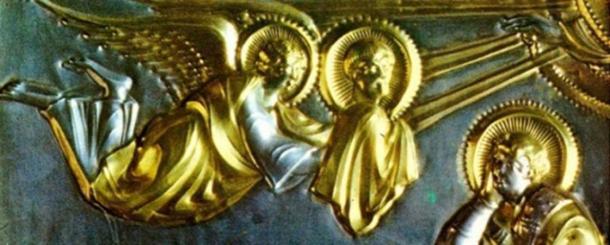 On découvre aujourd'hui comment des artisans ont réussi, il y a des siècles, à réaliser des dorures sophistiquées, comme sur l'autel en or de Saint-Ambroise, datant de 825 après J.-C.