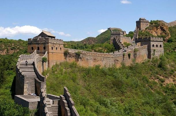 La Grande Muraille de Chine près de Jinshanling a été commandée par Qin Shi Huang.