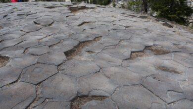 Destinations géologiques pour les touristes californiens