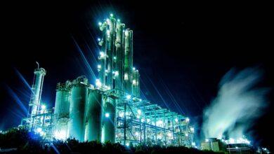 Exemples de produits pétrochimiques et pétroliers