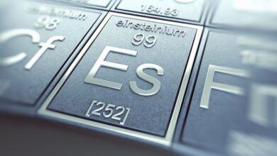 Faits sur l'Einsteinium - Élément 99 ou Es
