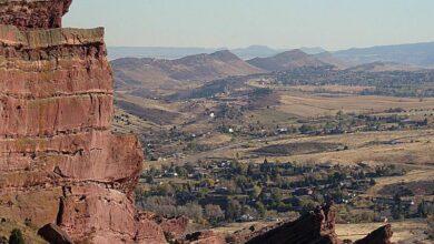 Géologie des roches rouges, Colorado