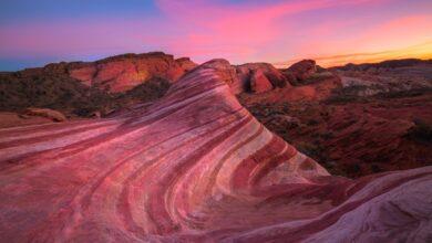 Géologie du parc d'État de la vallée du feu, Nevada