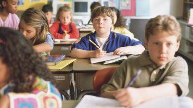 Regroupement hétérogène dans la salle de classe